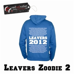 Picture of Leavers Zoodie