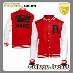 Picture of Red Radio College Jacket