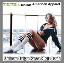 Picture of Unisex Stripe Knee-High Sock