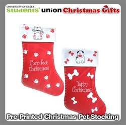 Picture of Pre-Printed Christmas Pet Stocking