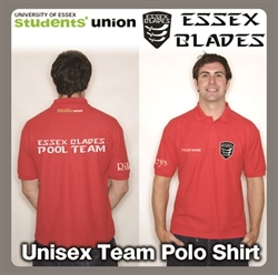 Picture of Pool Team Polo Red