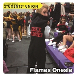 Picture of Essex Flames Onesie