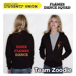 Picture of Essex Flames Dance Squad Zoodie
