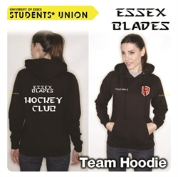 Picture of Hockey Team Hoodie Black