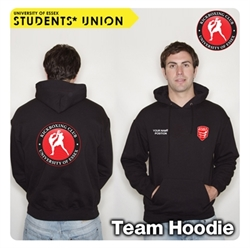 Picture of Kick Boxing Club Hoodie Black