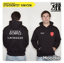 Picture of Lacrosse Team Hoodie Black