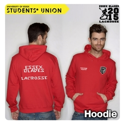Picture of Lacrosse Team Hoodie Red