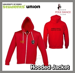 Picture of Essex Pole Dance Club Hooded Jacket