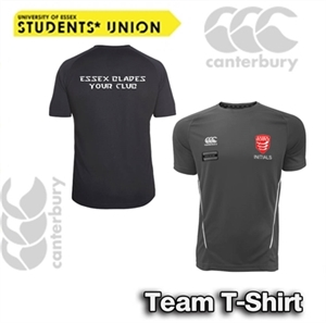 Picture of Black and White Essex Blades Canterbury Team T-Shirt