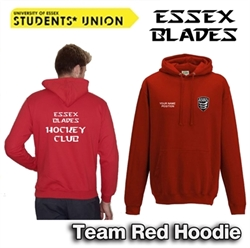 Picture of Hockey Team Hoodie Red