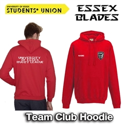 Picture of University of Essex Rugby League Team Club Hoodie (Red)