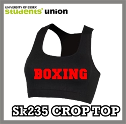 Picture of Essex Blades Boxing Crop Top