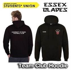 Picture of University of Essex FC Team Hoodie (Black)