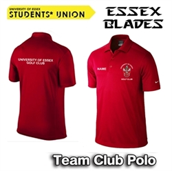Picture of University of Essex Golf Club Team Nike Polo (Red)