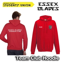 Picture of Essex Blades Squash Club Team Hoodie (Red)