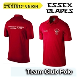 Picture of University of Essex FC Nike Team Polo (Red)